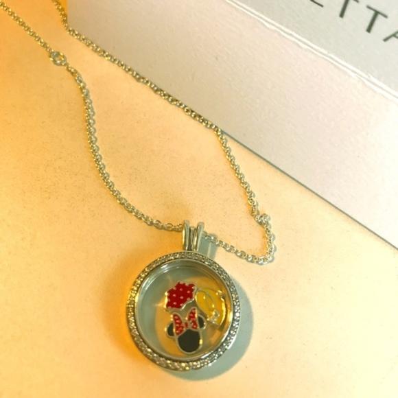 4a51112ad Pandora Jewelry | Sparkling Locket Disney Minnie Set New | Poshmark